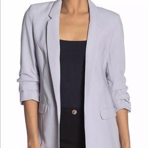 Philosophy 3/4 sleeve Chic blazer blue S 4 Gray